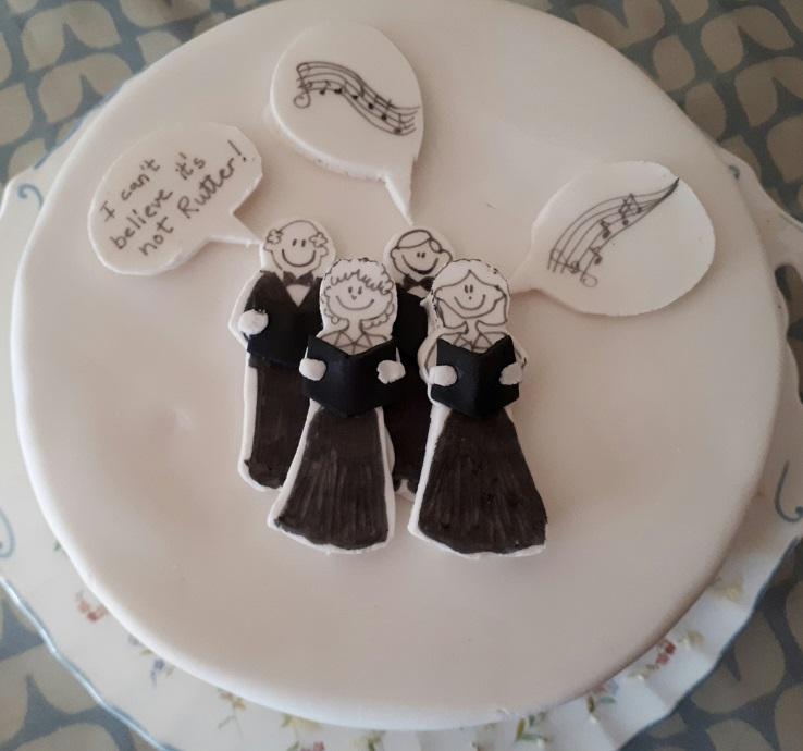 The event cake