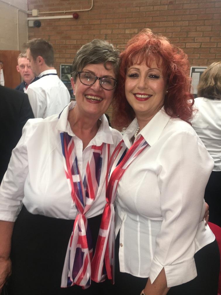 Inger and Linda