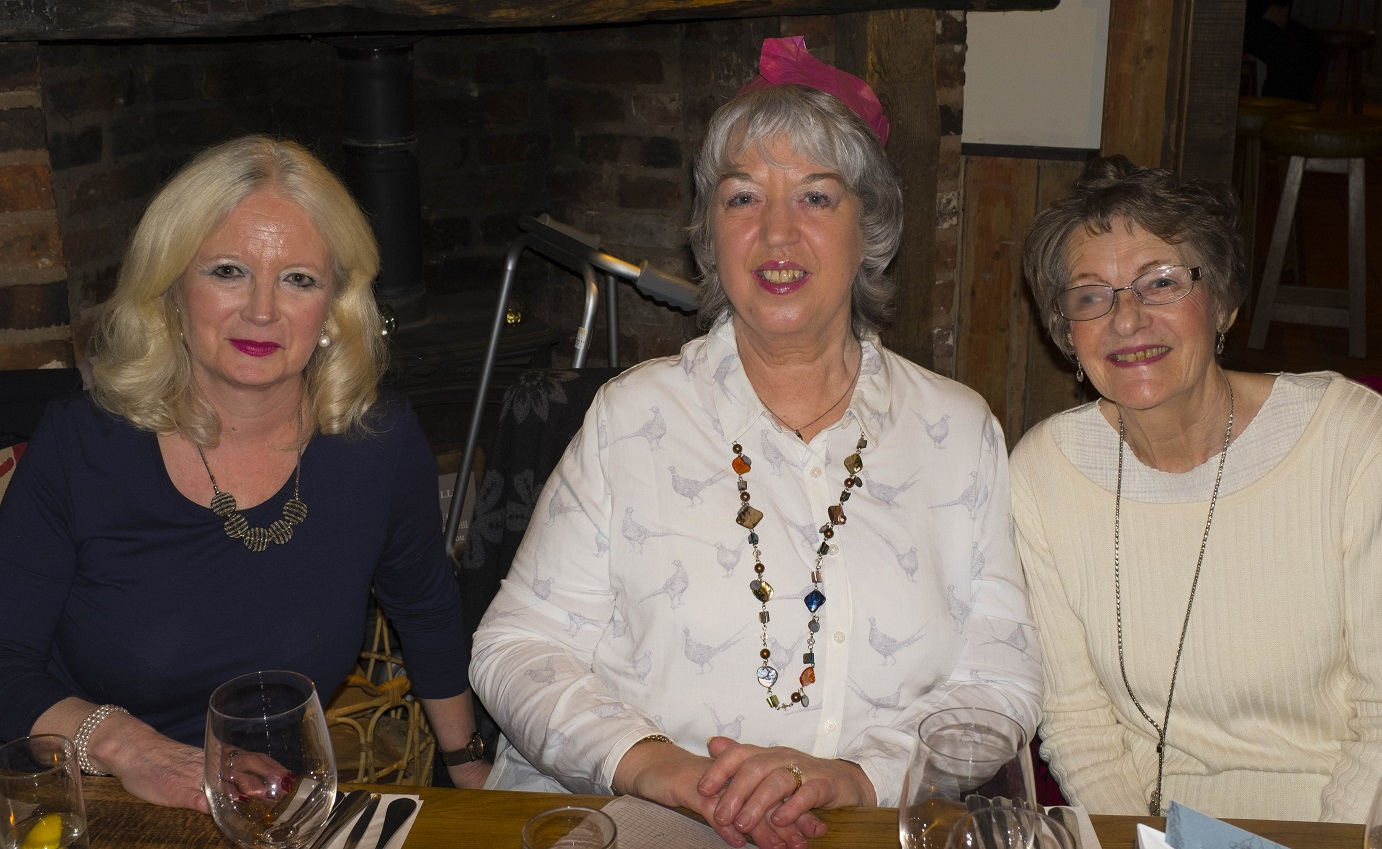 Jane, Linda and Rosemary