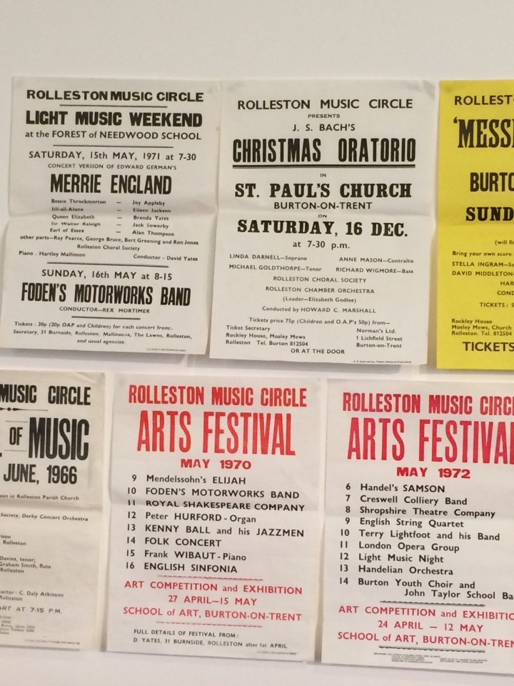 Some early concert posters